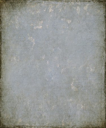 pale colors: Image of a Faded Blue Grunge Plaster with Burnt Frame