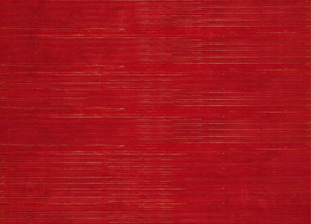 Image of Red Stained Ribbed Natural Textured Background  Standard-Bild