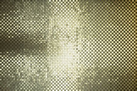 Glamorous Shimmering Silver and Gold Metal Tile Background