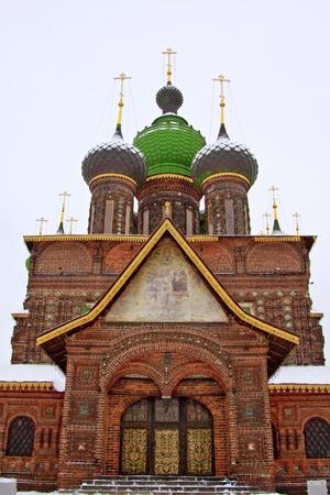 john the baptist: St. John the Baptist Church, Yaroslavl, Russia