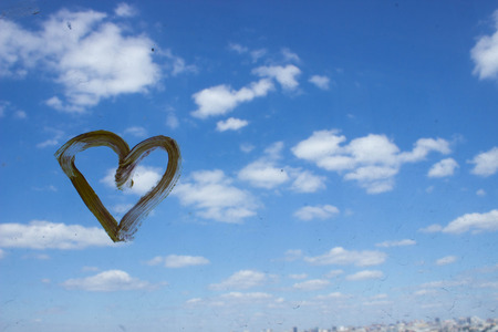 yellow heart: Yellow heart picture