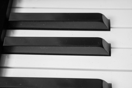 octave: Keys from a piano, all notes are one octave