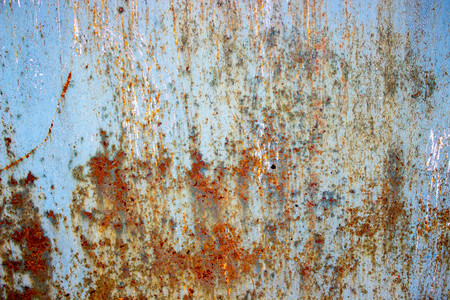 making hole: beautiful rusty metal background texture abstraction