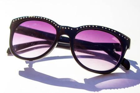 stylish fashionable glasses Stock Photo