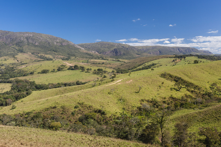 national park: Mountains of Minas Gerais State - Serra da Canastra National Park - Brazil