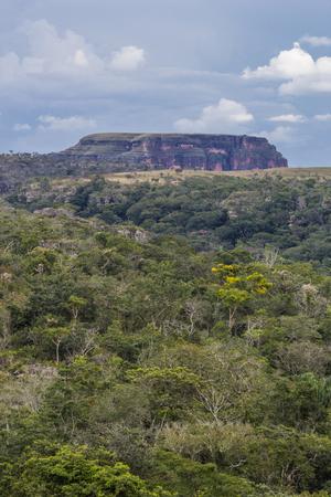 guimaraes: Sao Geronimo hill - Chapada dos Guimaraes - Mato Grosso - Brazil