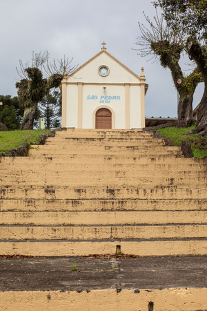 Stairs Chapel of Sant Peter - Stone path - Bento Goncalves - RS - Brazil