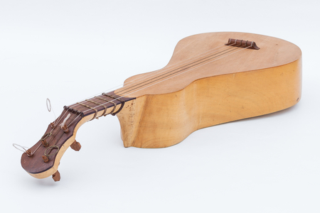 heritage: Viola de Cocho - Brazilian typical instrument, National Heritage of Mato Grosso State - Brazil Stock Photo