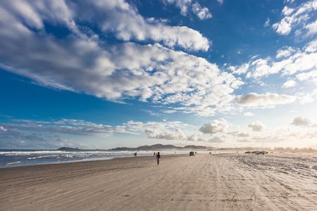 Luz's Beach - Imbituba - Santa Catarina - Brazil Stockfoto