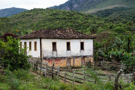 Old Abandoned House at Serra da Canastra National Park - Minas Gerais - Brazil Stockfoto
