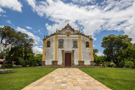 senhora: Church of the Holy Trinity at Tiradentes - Minas Gerais - Brazil
