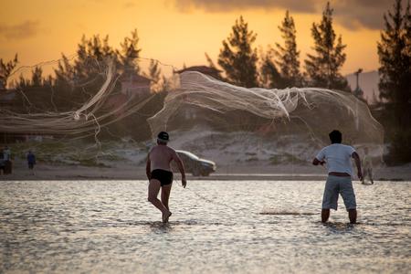 Fishermen Number 2 at Luz' Beach in Imbituba - Santa Catarina - Brazil