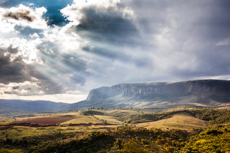river rock: Serra da Canastra National Park in Minas Gerais State - Brazil