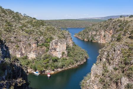 capitolio: View from top of Furnas Canyon - Capitolio - Minas Gerais - Brazil
