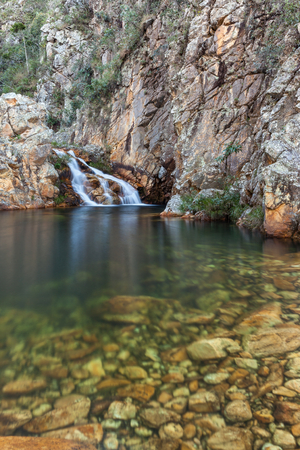 Parida Waterfall (Cachoeira da Parida) - Serra da Canastra National Park - Brazil Stockfoto