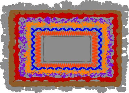 Photo frame in vector format Vector