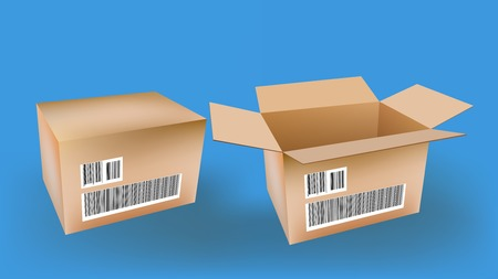 Box Stock Vector - 1621787
