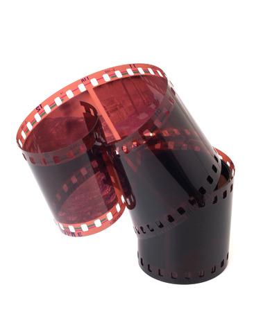 Negative film  isolated on white Stock Photo - 1659447