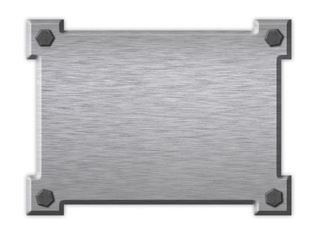 Polished metal  plate. An abstract background Stock Photo - 1787939
