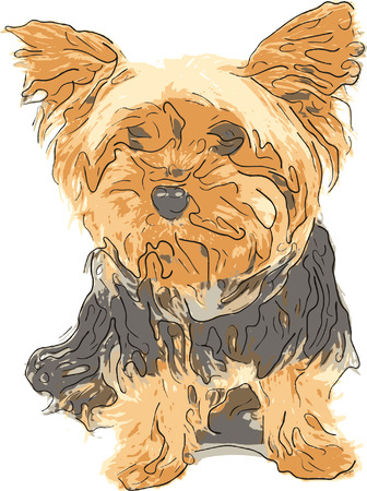 Picture of little doggy Stock Vector - 1798215