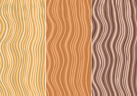 plywood: vector wooden patterns for backgrounds Illustration