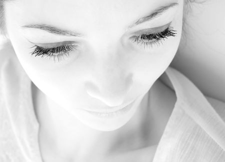 Eyes of the  girl close up Stock Photo - 2093428