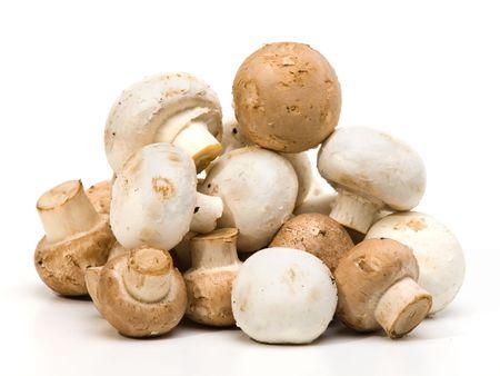 unwashed: Pila di unwashed pulsante funghi