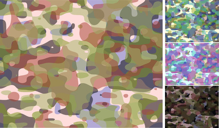 camouflage backgrounds Stock Vector - 2379113