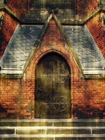 ancient prison: door