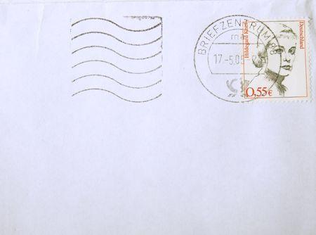 postscript: Letter Stock Photo