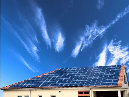 environmentalist: Solar panel