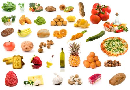 Set of food Stock Photo - 3092688