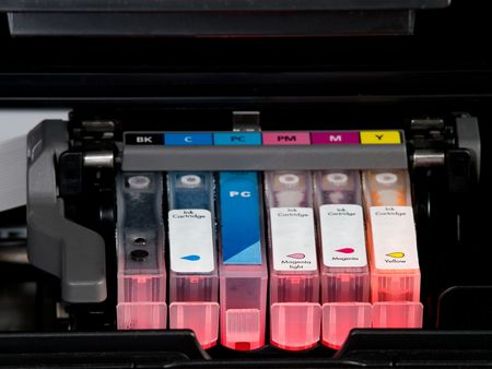 ink jet: cartridges