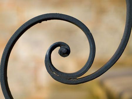 puertas de hierro: Adorno