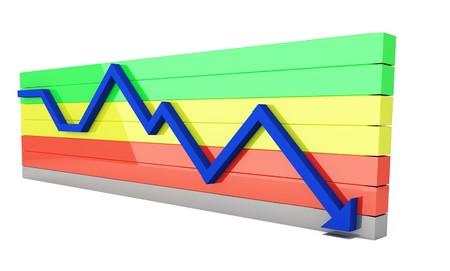 downturn: crash
