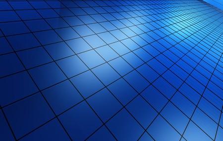digitally generated: Blue background Stock Photo