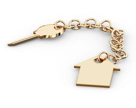 categories: Gold key charm  pendant