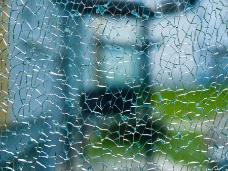 broken glass Stock Photo - 5588011