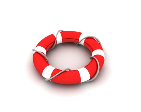 drowning: lifebuoy