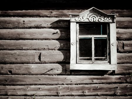 russian old house Stock Photo - 6116565