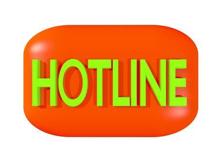 hotline: Hotline Stock Photo