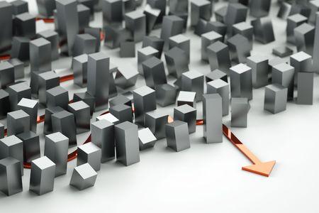 Labyrinth concept entrance illustration illustration
