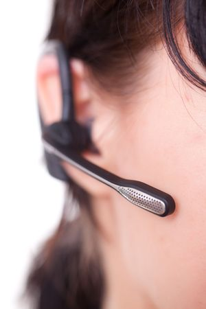 Bluetooth headset photo