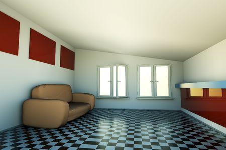3d: 3D interior
