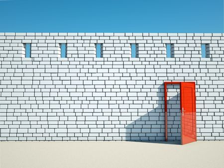 Abstract entrance with sun light Stock Photo - 7945724