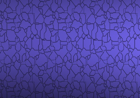 Blue 3d Metal background Stock Photo - 8345946