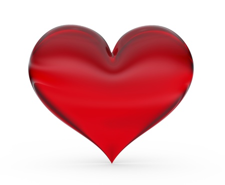 Red 3d Heart Stock Photo - 8345931