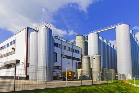 chemical plant and storage tanks Stock Photo - 8784714
