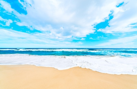 Holiday Sea sand beach background photo