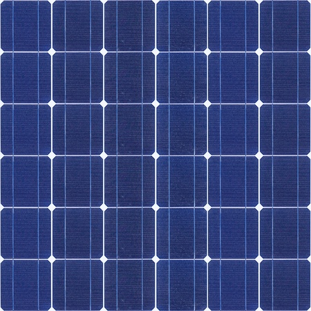 Solar panel seamless texture photo